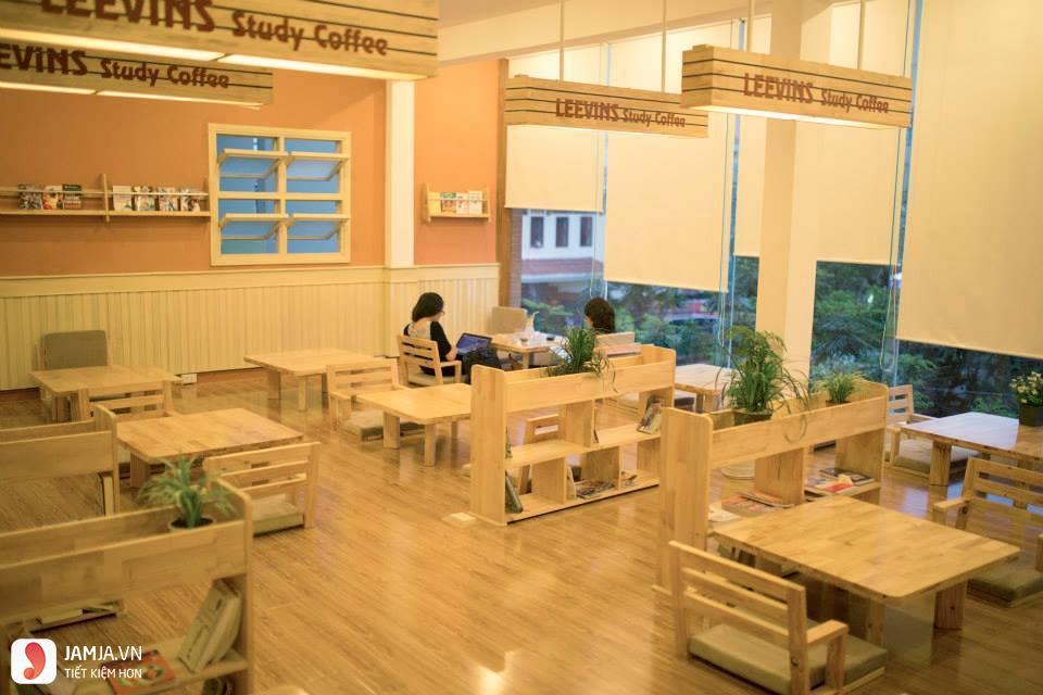 quán cafe yên tĩnh ở đà nẵng Leevins Study Coffee 2