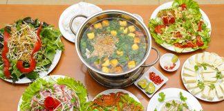 Top 10 quán lẩu riêu cua bắp bò ngon ở Hà Nội