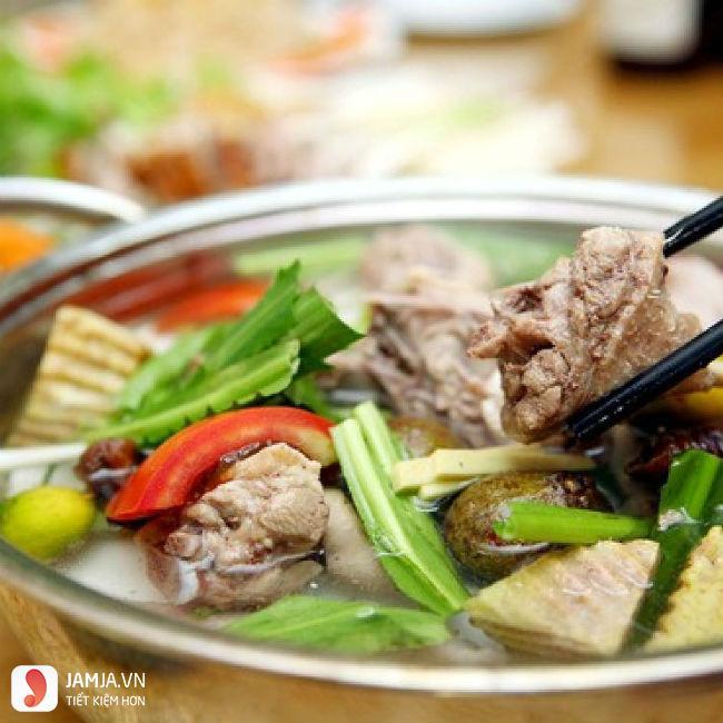 Quán lẩu vịt Trần Bình