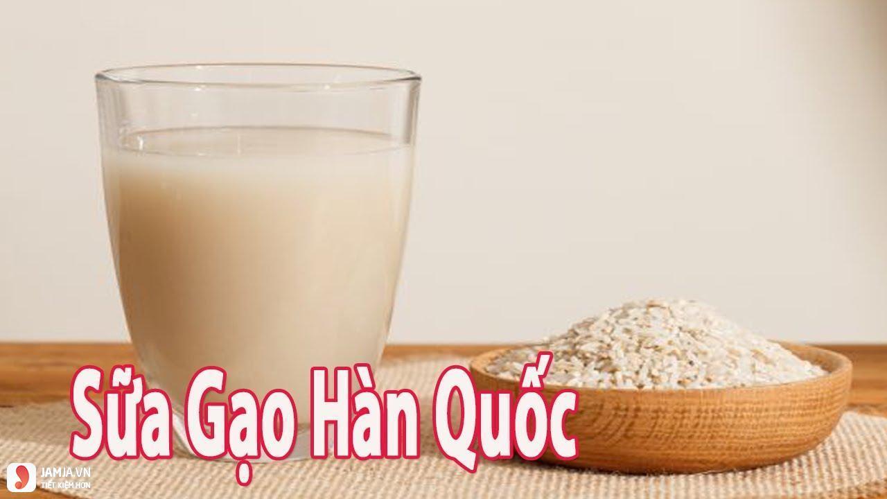 Sữa gạo Hàn Quốc