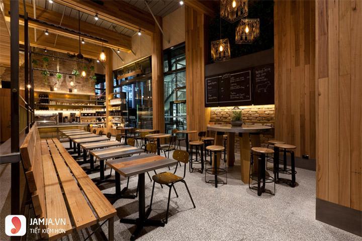 Lời khuyên cho việc thiết kế quán cafe rẻ, đẹp hút khách nườm nượp 6