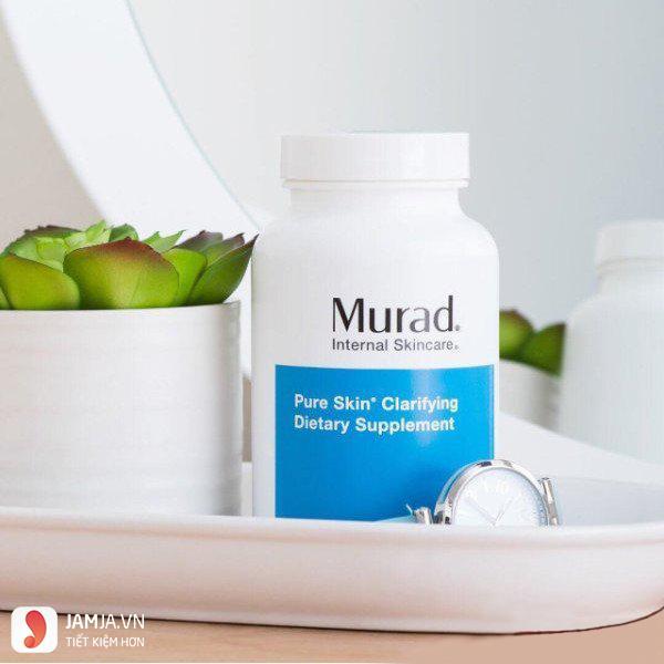 Viên uống trị mụn Murad Pure Skin Clarifying Dietary Supplement 2