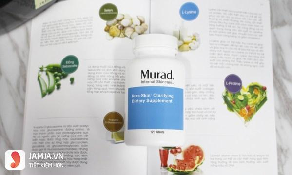 Viên uống trị mụn Murad Pure Skin Clarifying Dietary Supplement 6