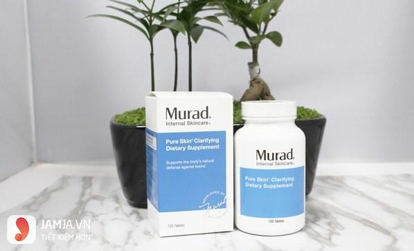 Viên uống trị mụn Murad Pure Skin Clarifying Dietary Supplement 7