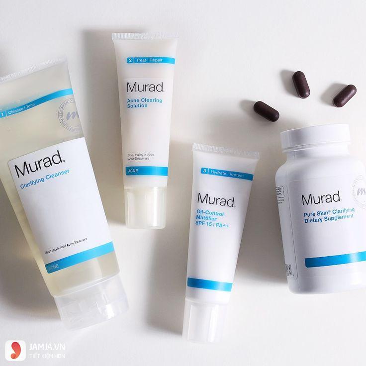 Viên uống trị mụn Murad Pure Skin Clarifying Dietary Supplement 8