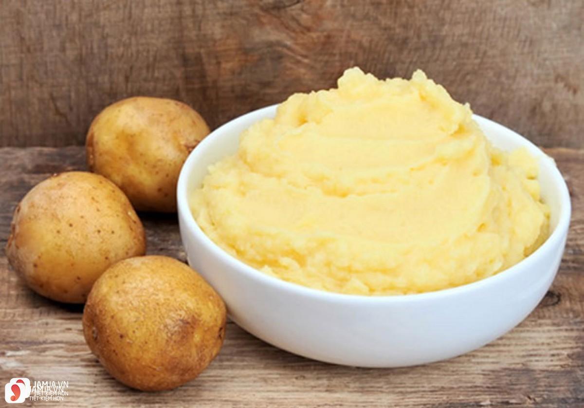 Các bước làm khoai tây chiên xù 1