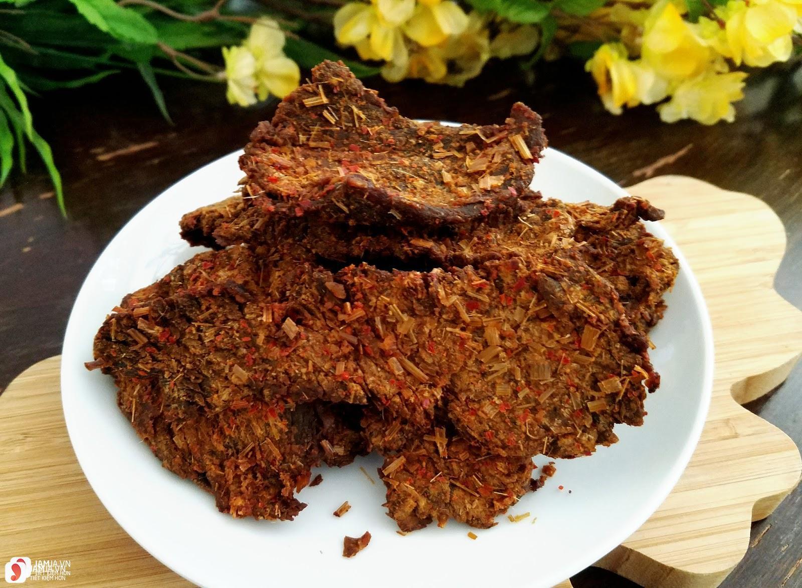 cách bảo quản thịt bò khô