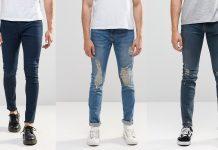 cách làm giãn quần jean 1