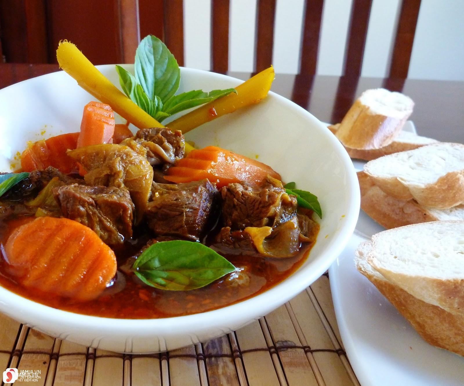 Cách nấu cari bò kiểu Ấn Độ 3