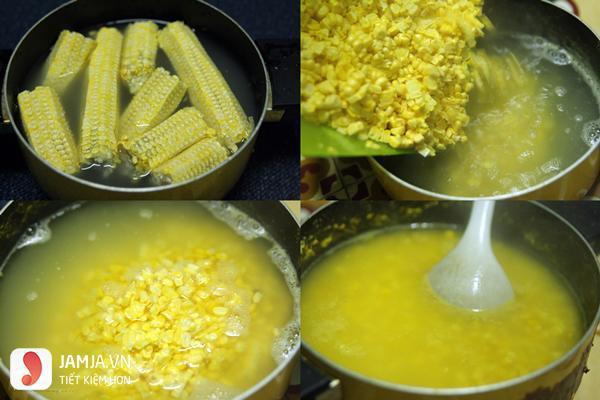 cách nấu chè bắp đậu xanh 1