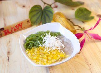 Cách nấu chè bắp đậu xanh