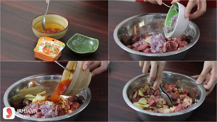 cách nấu hủ tiếu bò kho 5