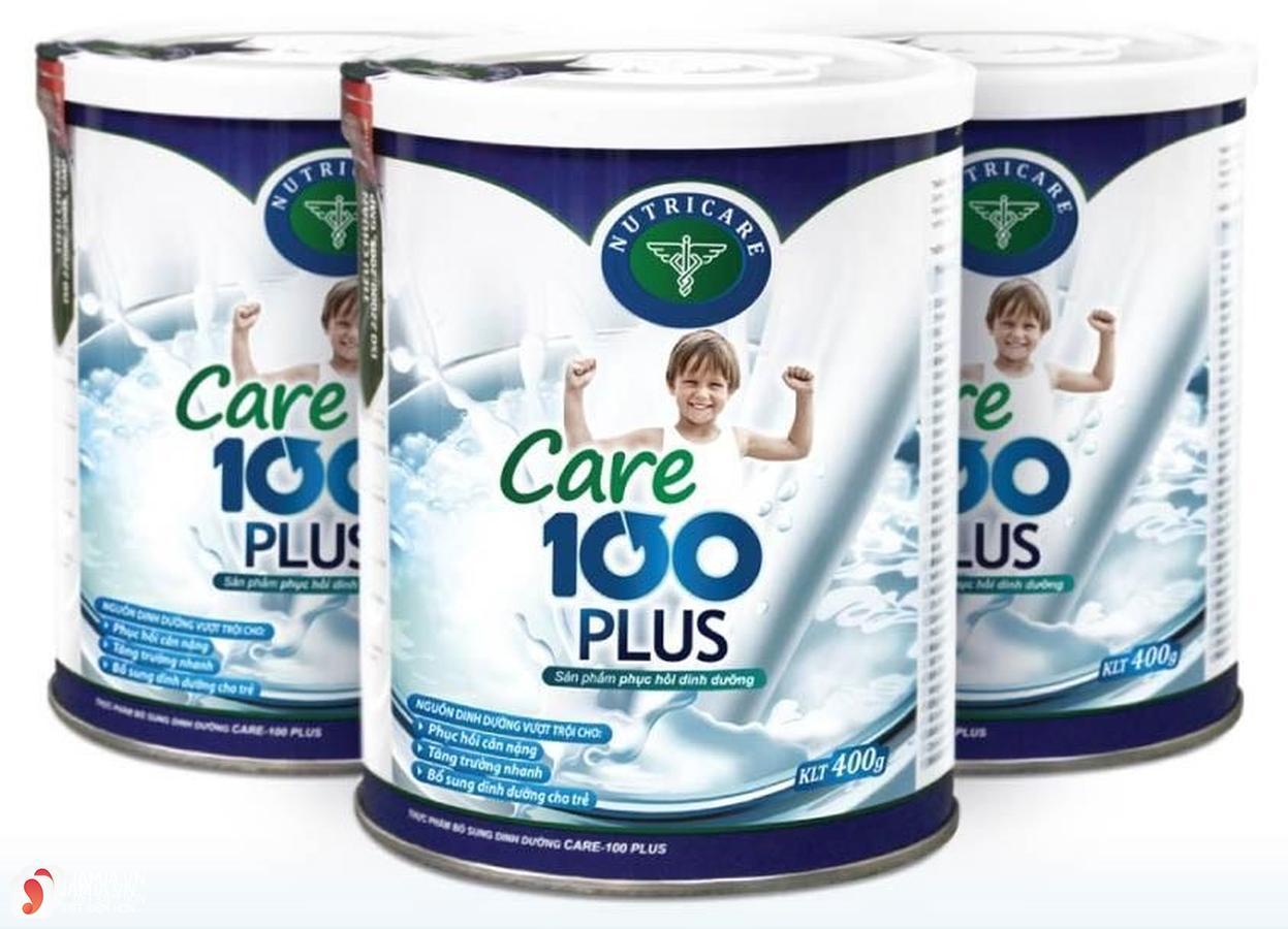 Những điều cần biết về sữaCare 100 Plus 1
