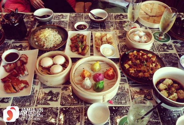 đồ ăn San Fu Lou