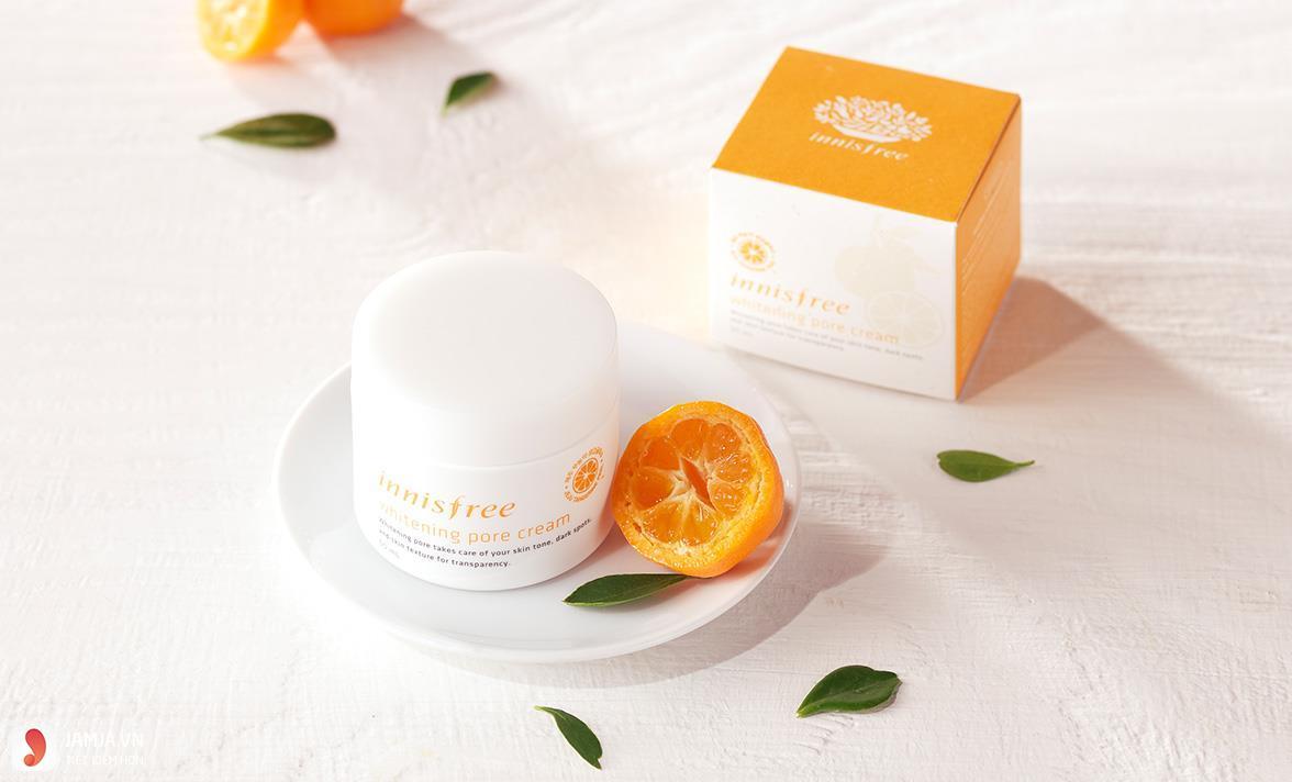 kem dưỡng trắng da Innisfree whitening pore cream 1