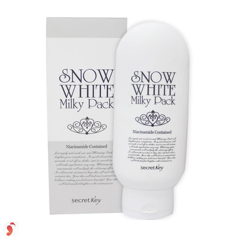 Kem tắm trắngSnow White Milky Pack có tốt không 6