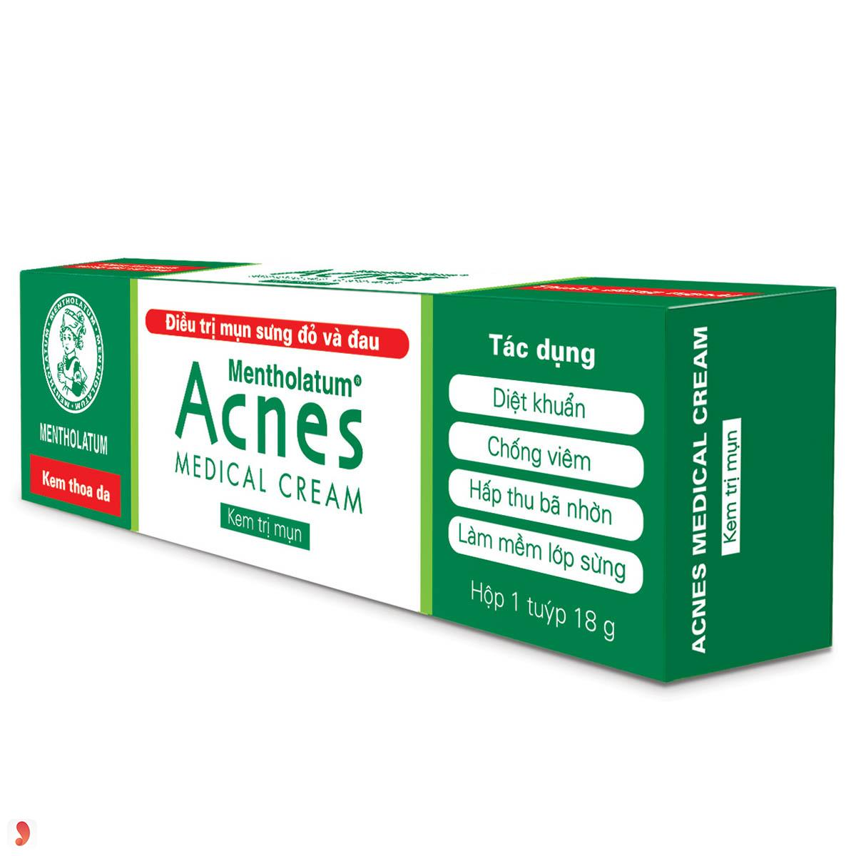 Kem trị mụn Acnes Medical cream