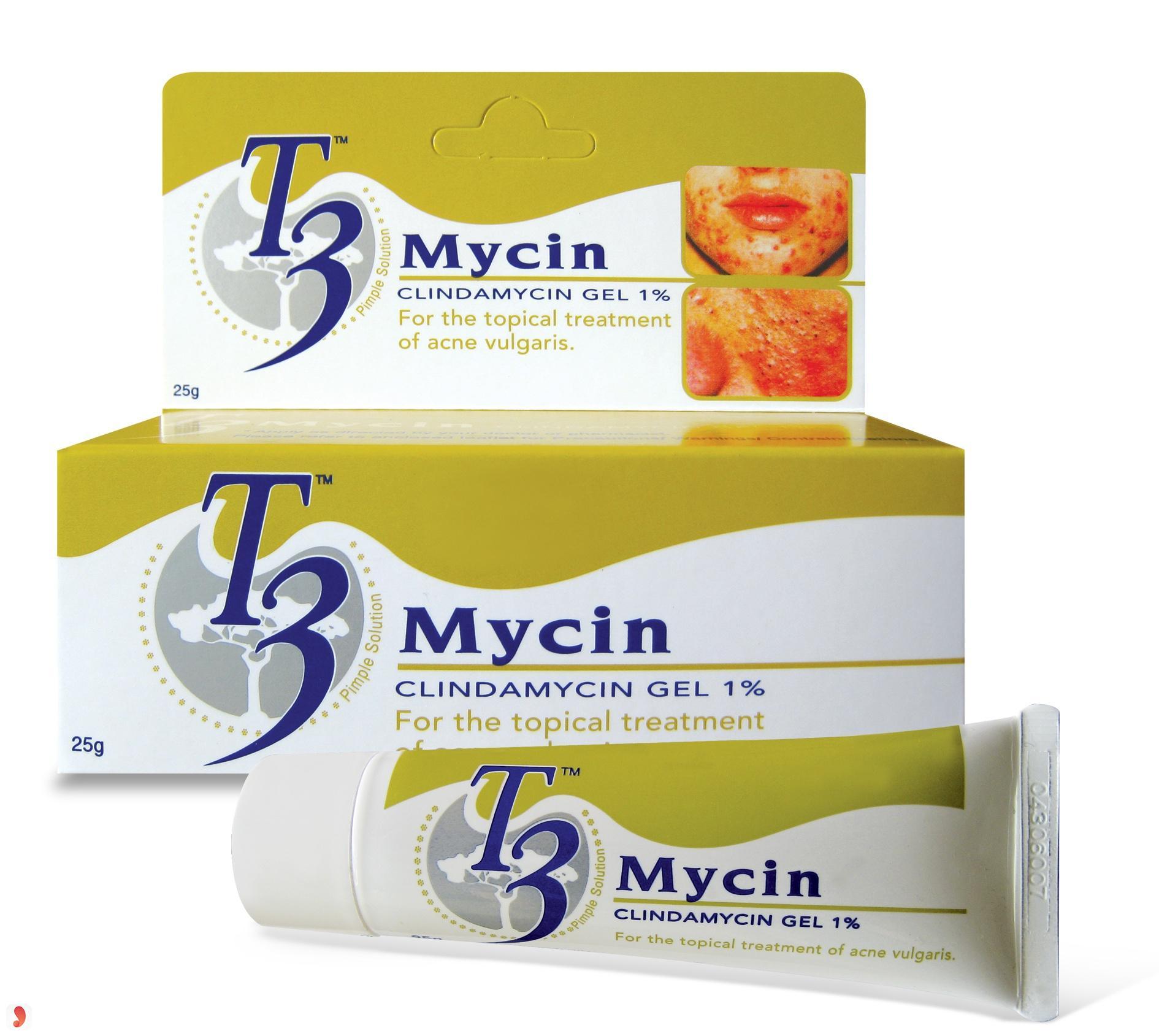 Kem trị mụn T3 Mycin