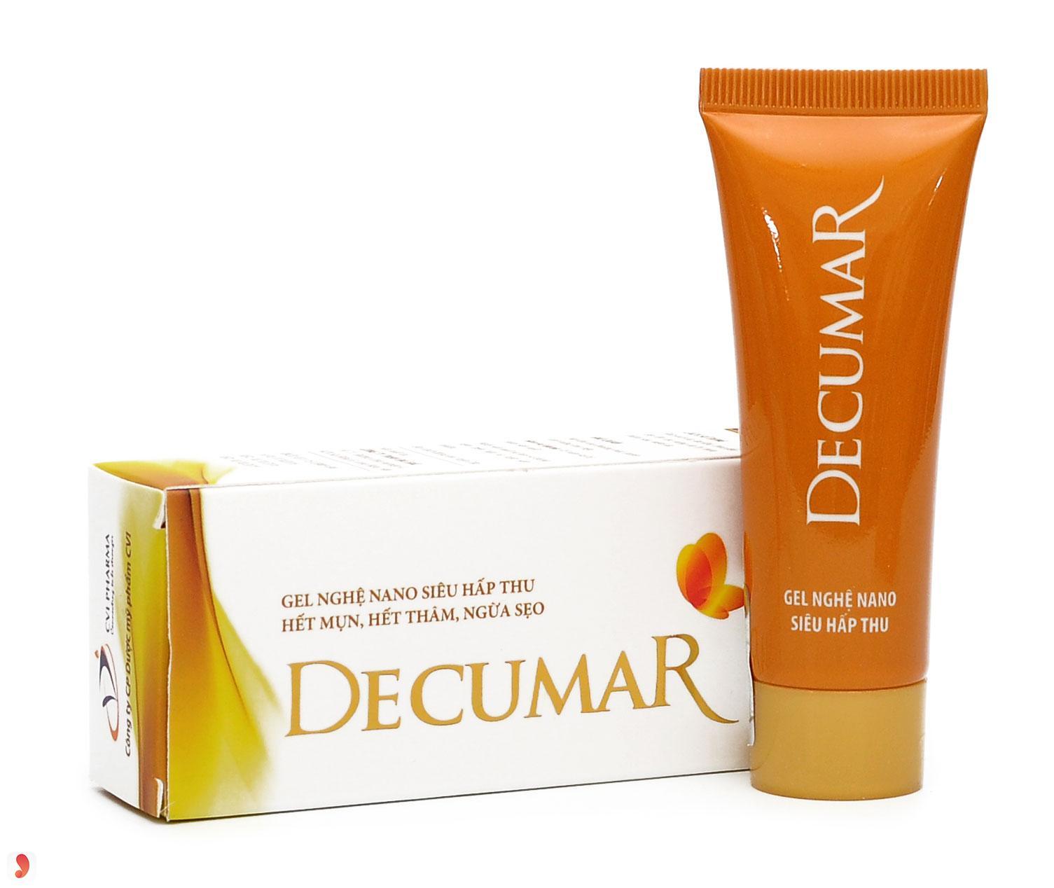 Kem trị mụn và trị vết thâm Decumar 1
