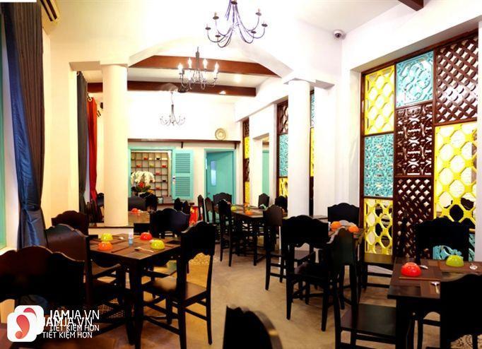 Không gian nhà hàng Scent Garden