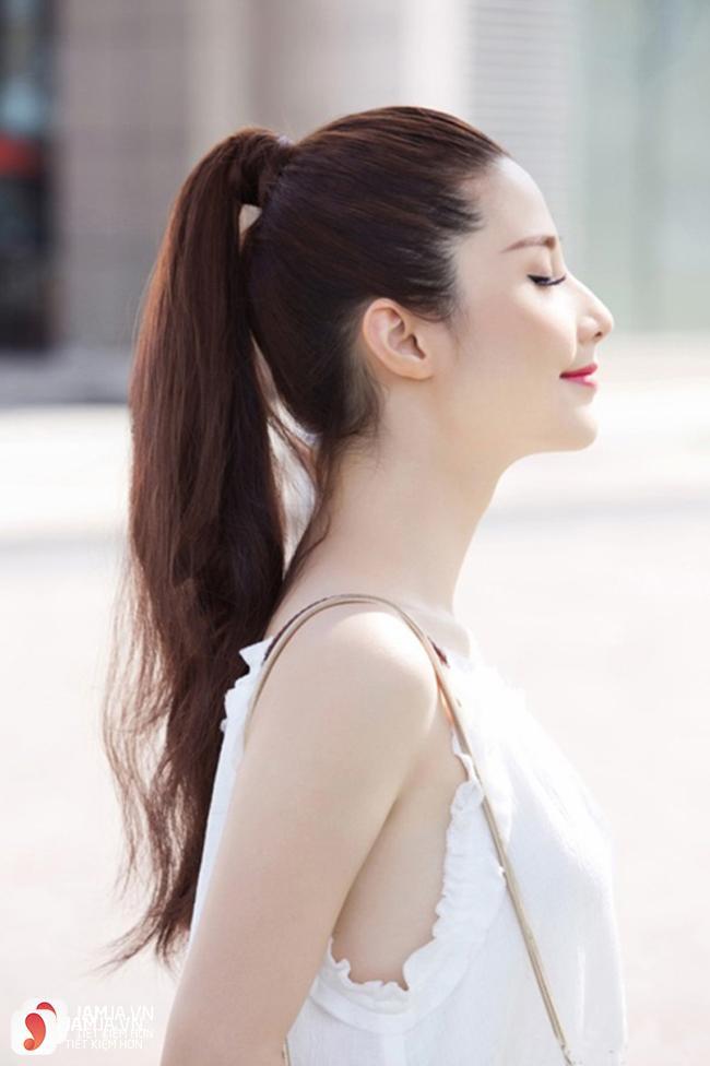 Kiểu tóc cho người mập mặt tròn 2018 1
