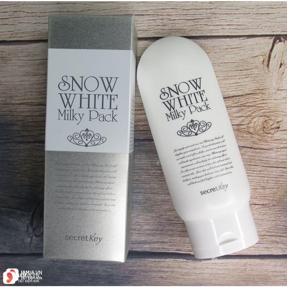 Lưu ý khi dùngSnow White Milky Pack