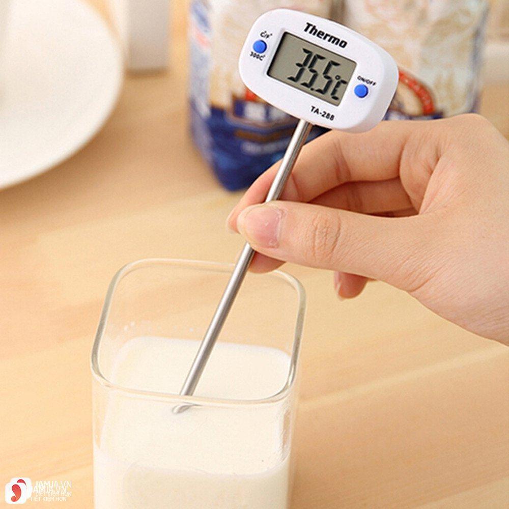 lưu ý khi pha sữa Frisolac Gold 1 2