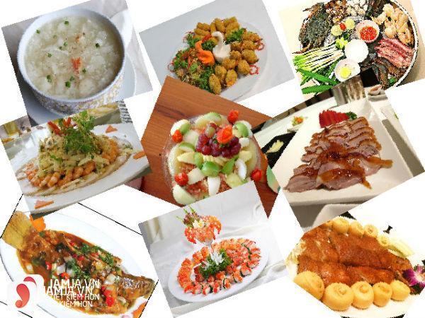Món ăn nhà hàng Quê Nhà