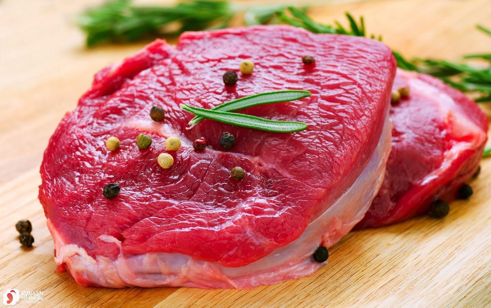 nguyên liệu nấu cari bò kiểu thái