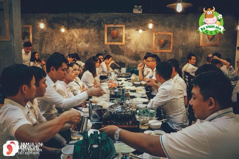 nhà hàng lẩu bò nhúng dấm 555-2