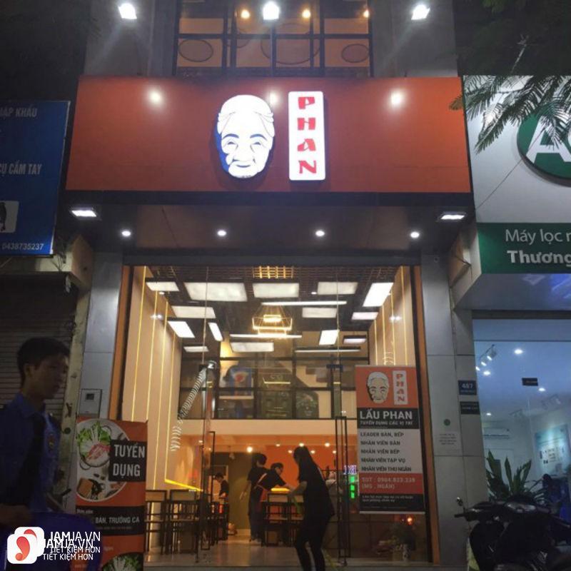 nhà hàng Lẩu Phan 1
