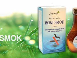 Nước súc miệng Boni Smok giá bao nhiêu? 1