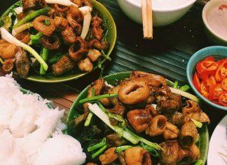 quán ăn vặt ngon ở Hà Nội
