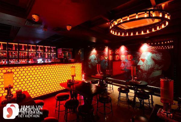 quán bar Boheme
