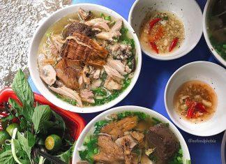 quán bún ngon Hà Nội