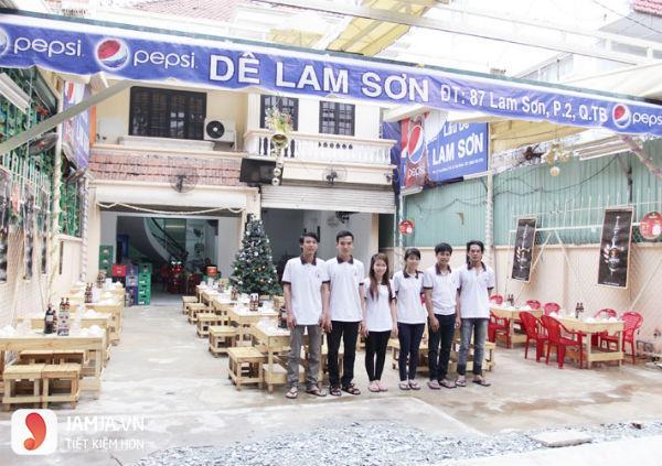 Quán lẩu dê Lam Sơn