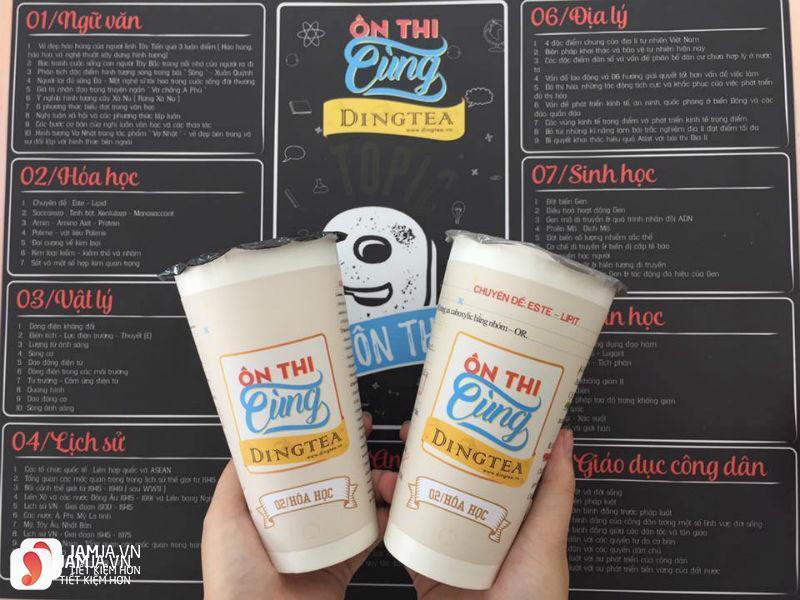 Trà sữa Ding Tea - Tô Hiệu 7