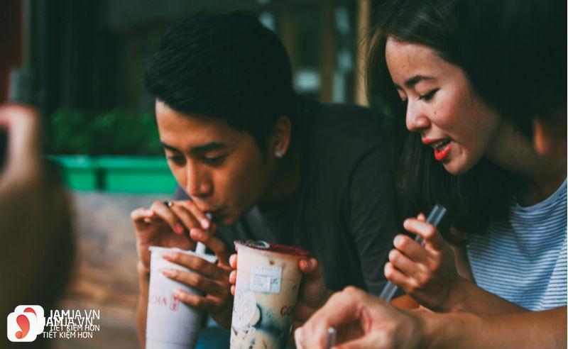 quán trà sữa ở Hà Nội 1