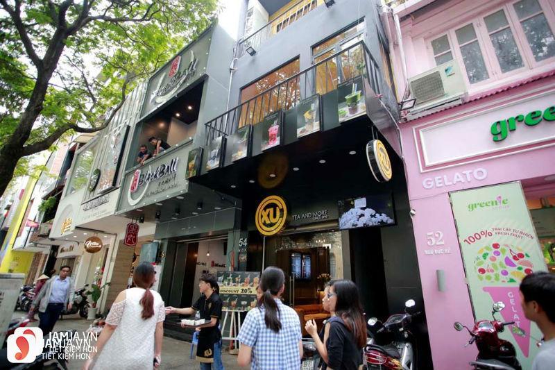 quán trà sữa ở Hà Nội 2