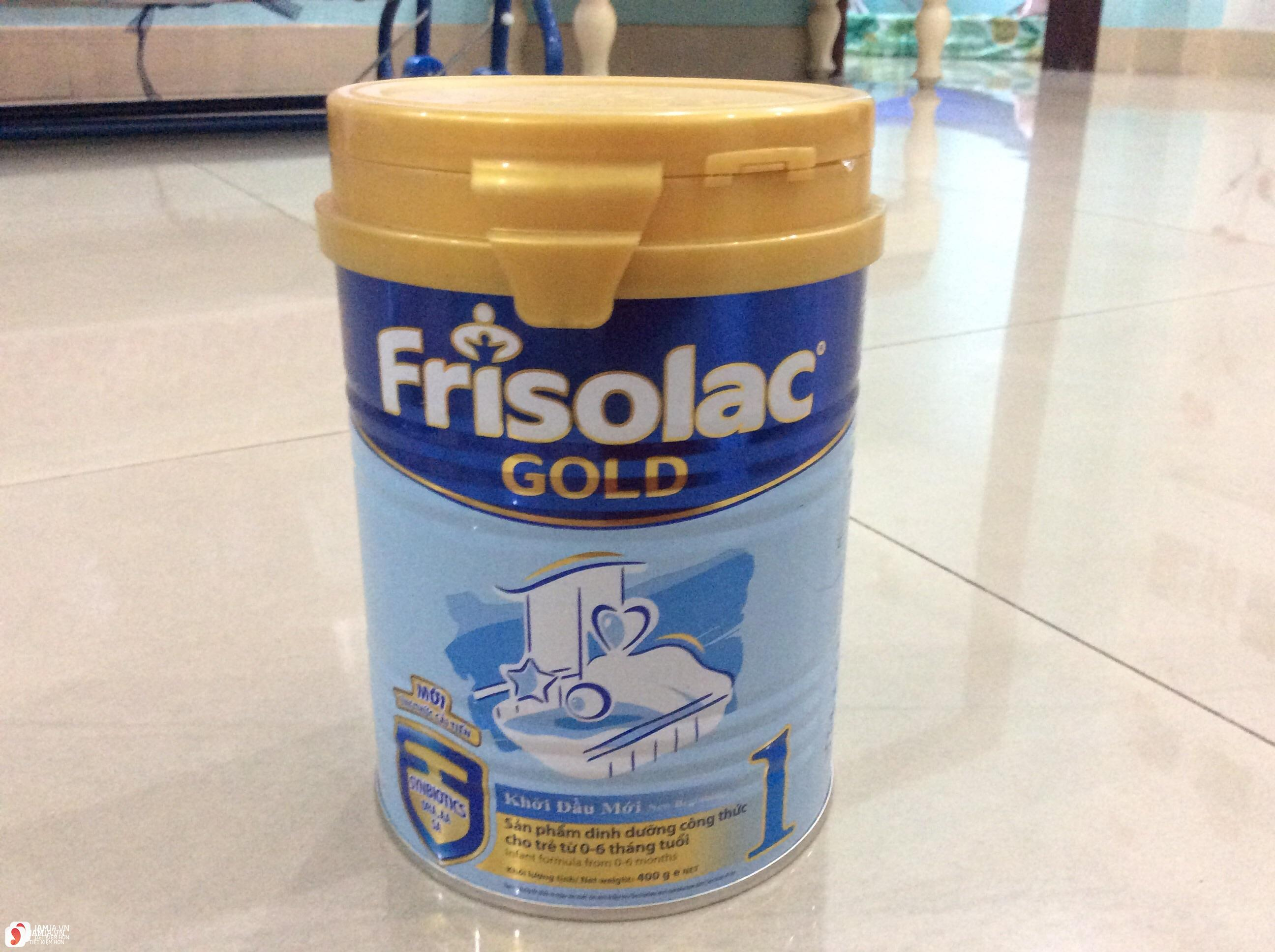 review chi tiết Frisolac Gold 1 4