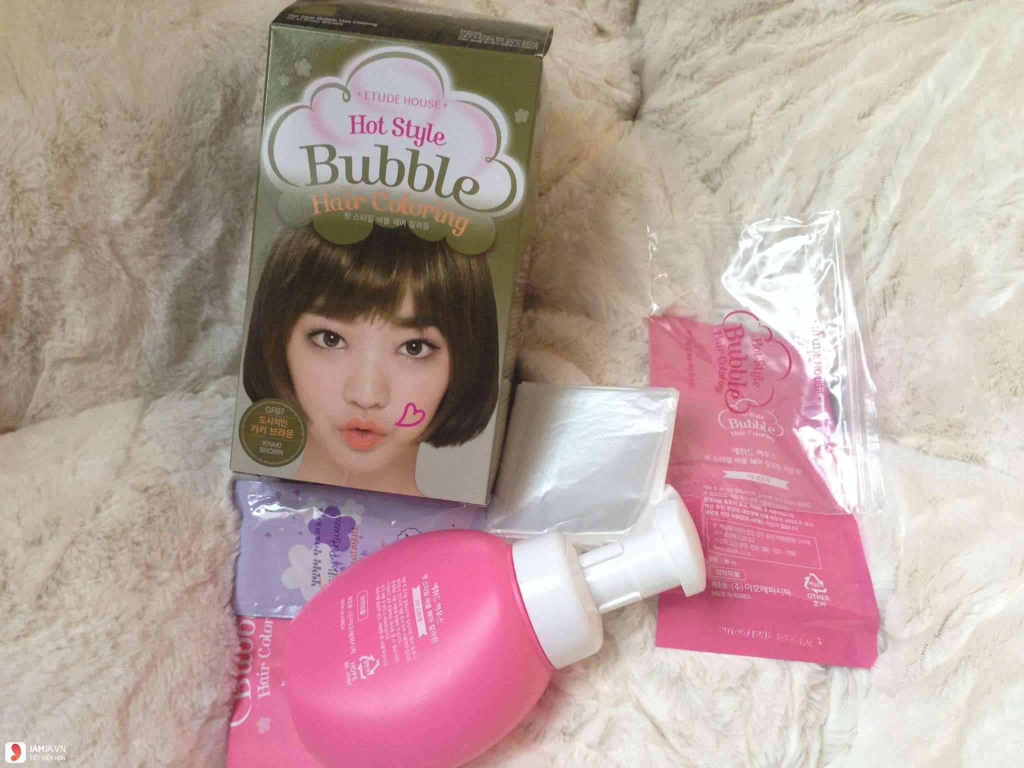 Review chi tiết dòng thuốc nhuộm tóc Etude 3