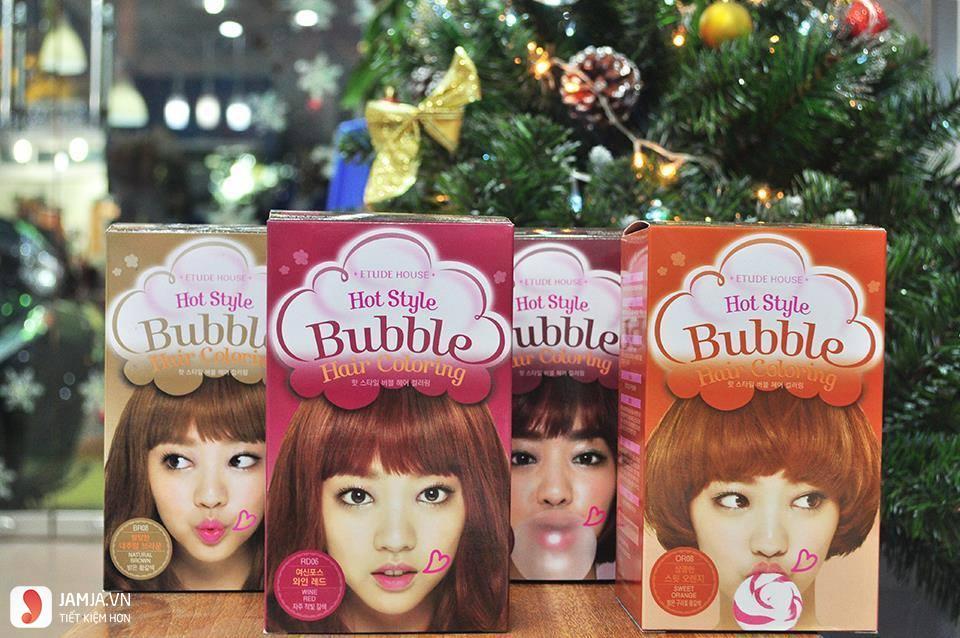 Review chi tiết dòng thuốc nhuộm tóc Etude 7