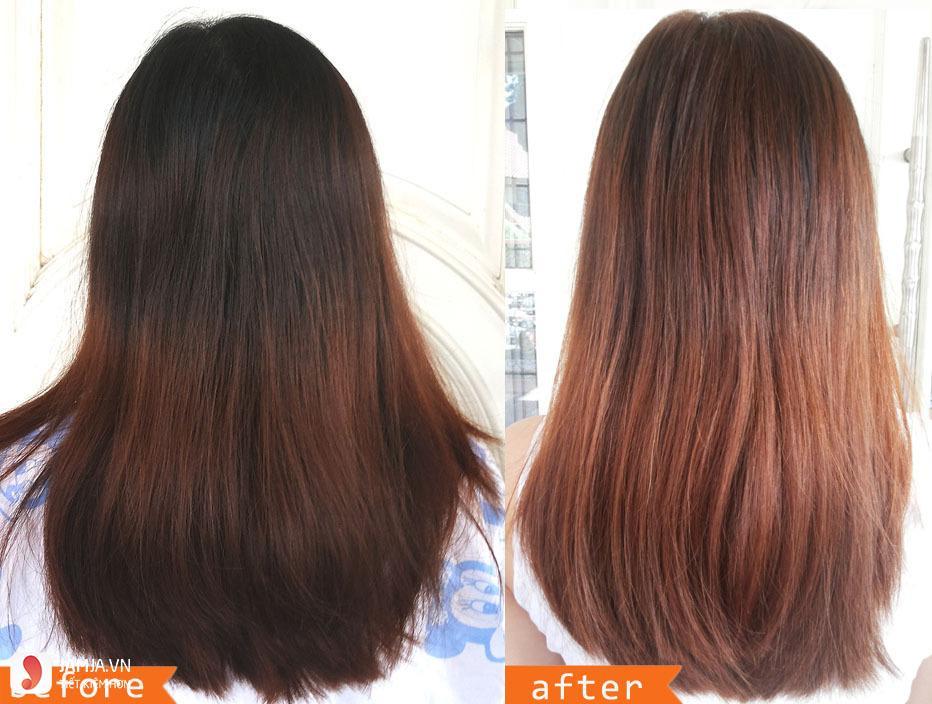 Review chi tiết dòng thuốc nhuộm tóc Etude 8