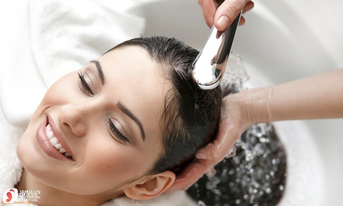 Review mặt nạ dưỡng tóc Argan Oil Protein Magic Complex Hair Mask 6