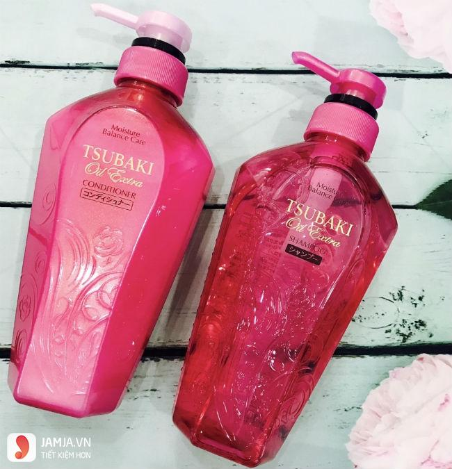 Shiseido Tsubaki Oil Extra -Tsubaki màu hồng