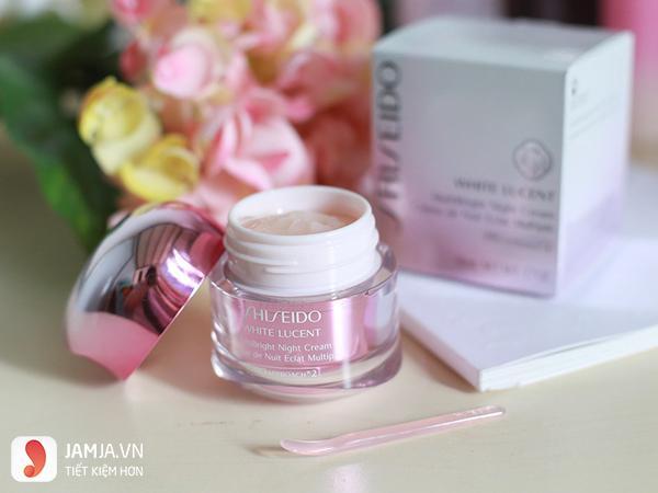 Kem dưỡng trắng da Shiseido White Lucent Multi Bright Night Cream