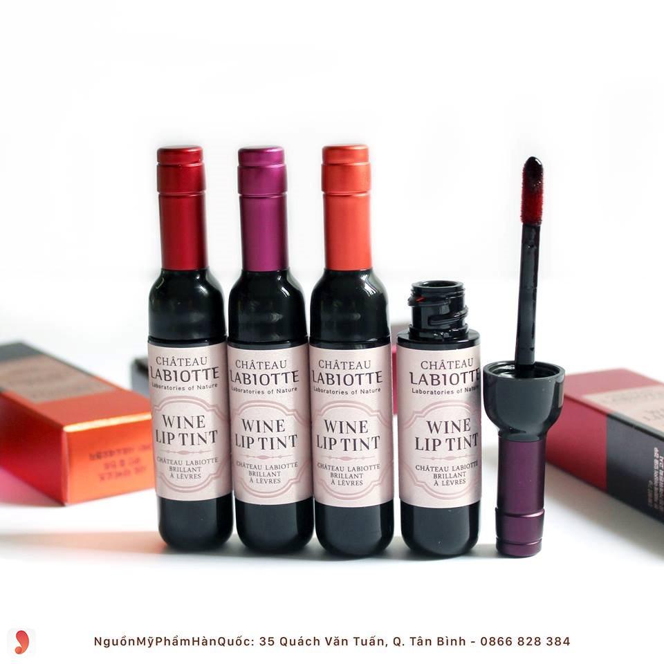 son rượu vang LabiotteWine Lip Tint 3