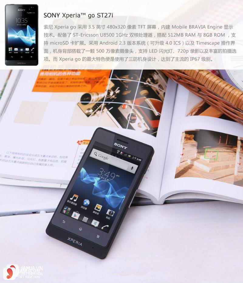 Sony Xperia Go ảnh 5