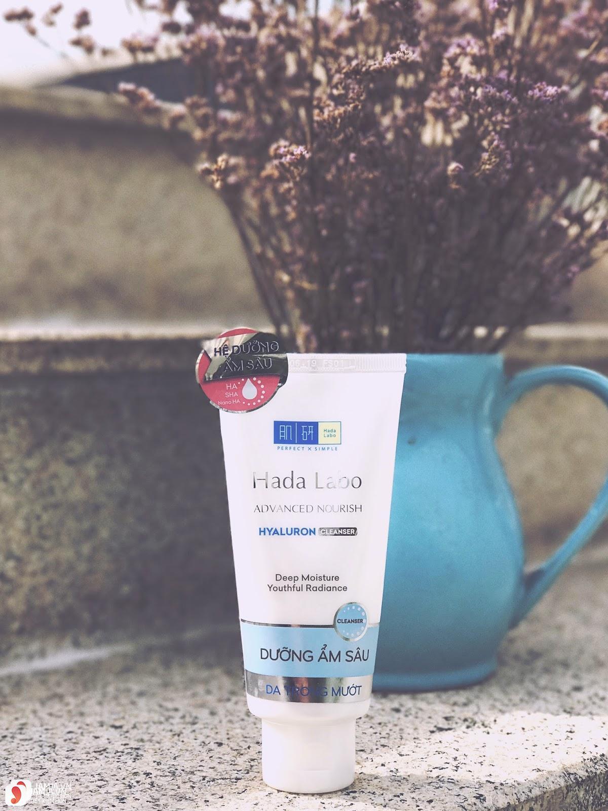 Sữa rửa mặt Hada Labo Advanced Nourish Hyaluron Cleanser 1