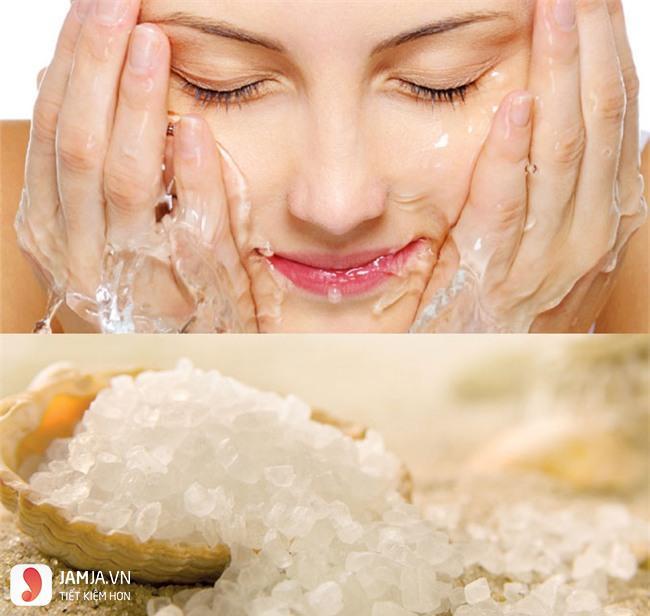 tẩy tế bà chết da mặt bằng muối 9